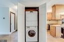 Washer and dryer in home - 210 N KING ST, LEESBURG
