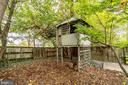 Former tree house in back of lot - 210 N KING ST, LEESBURG