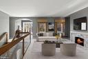 Upper level sitting room - 40568 HIDDEN HILLS LN, PAEONIAN SPRINGS