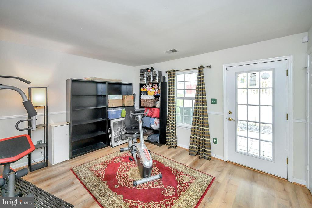 Lower level rec room - 12889 TITANIA WAY, WOODBRIDGE