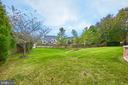 Expansive Rear Fenced Yard - 43857 HARTLEY PL, ASHBURN