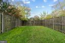 Fenced in Backyard - 10206 MAGNOLIA GROVE DR, MANASSAS
