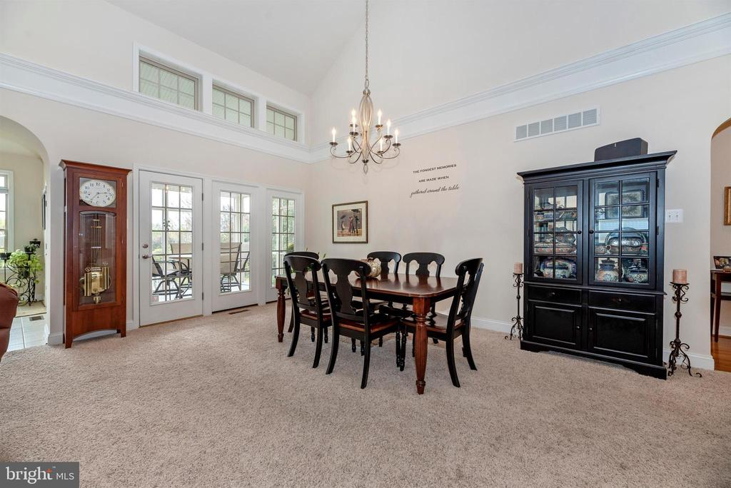 Dining Room flows out to screened porch. - 2513 MILL RACE RD, FREDERICK