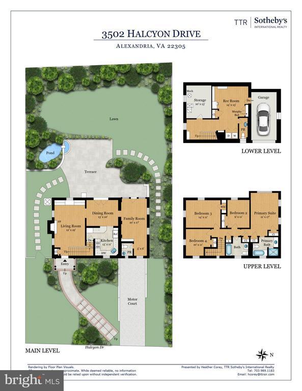 Beautiful lot and spacious home - 3502 HALCYON DR, ALEXANDRIA