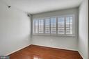 Second  bedroom  has plenty of light - 1301 N COURTHOUSE #1607, ARLINGTON