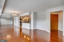 Open  floor plan - 1301 N COURTHOUSE #1607, ARLINGTON
