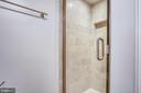 Shower in hall bath - 1301 N COURTHOUSE #1607, ARLINGTON