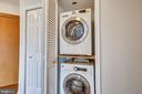 Stackable Washer/Dryer - 1301 N COURTHOUSE #1607, ARLINGTON