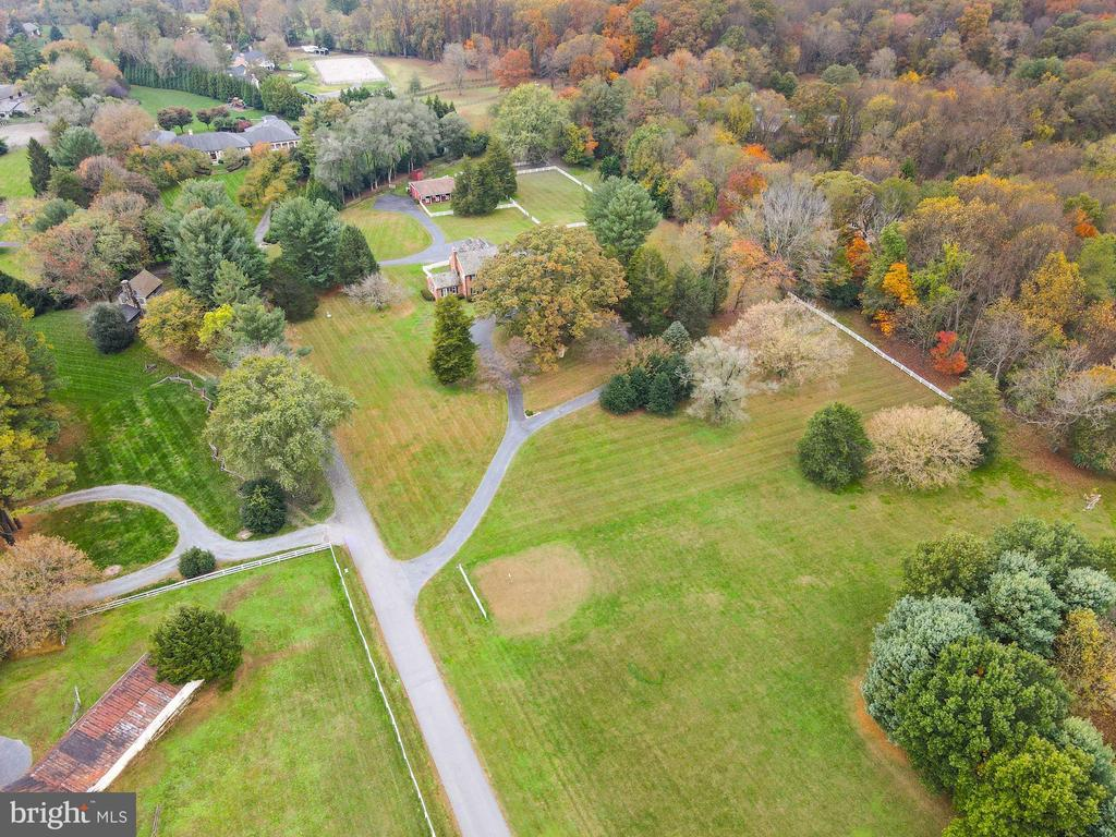 Aerial View - 9621 GEORGETOWN PIKE, GREAT FALLS