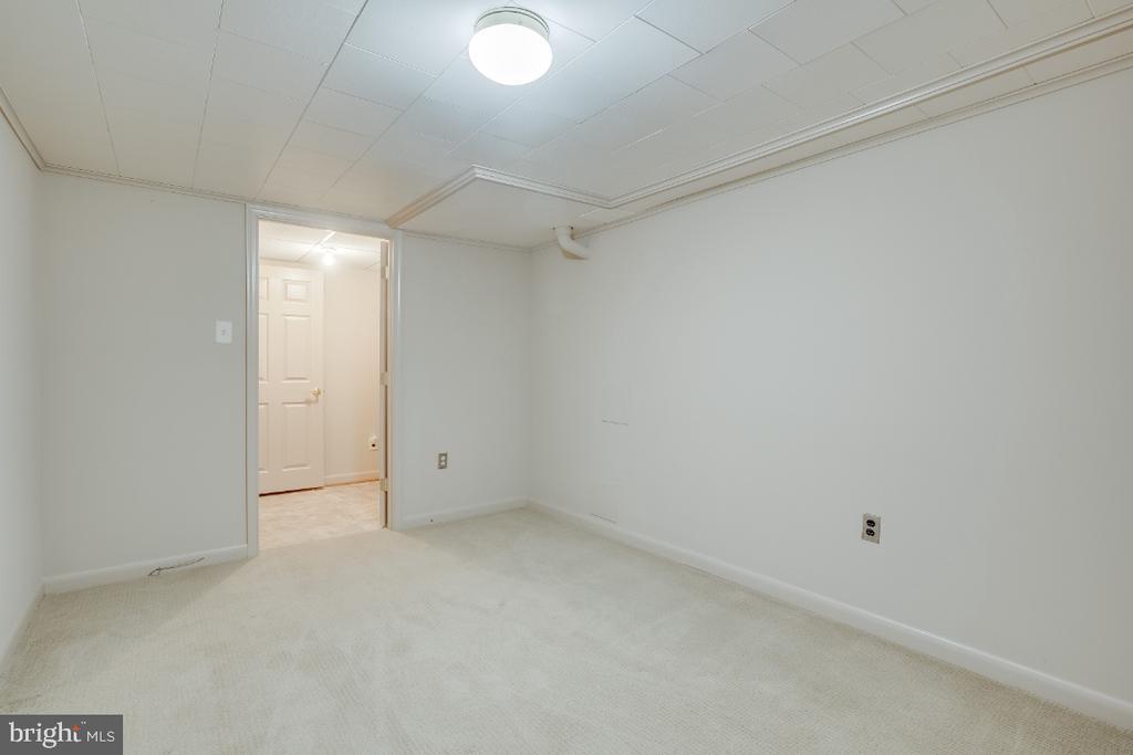 Den: access to rec room and cellar door - 161 LAWSON RD SE, LEESBURG