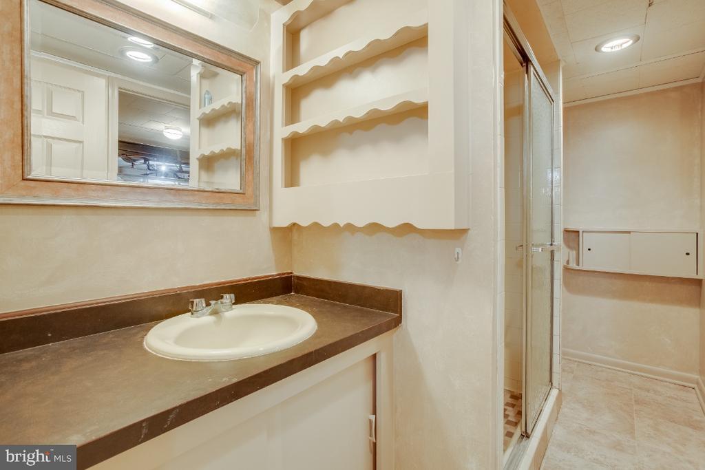Lower level full bathroom - 161 LAWSON RD SE, LEESBURG