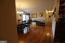 Dining Room Area or Formal Living Room - 7707 DUBLIN DR, MANASSAS