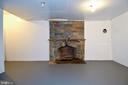 Wood Burning Fireplace - 8700 ARLINGTON BLVD, FAIRFAX