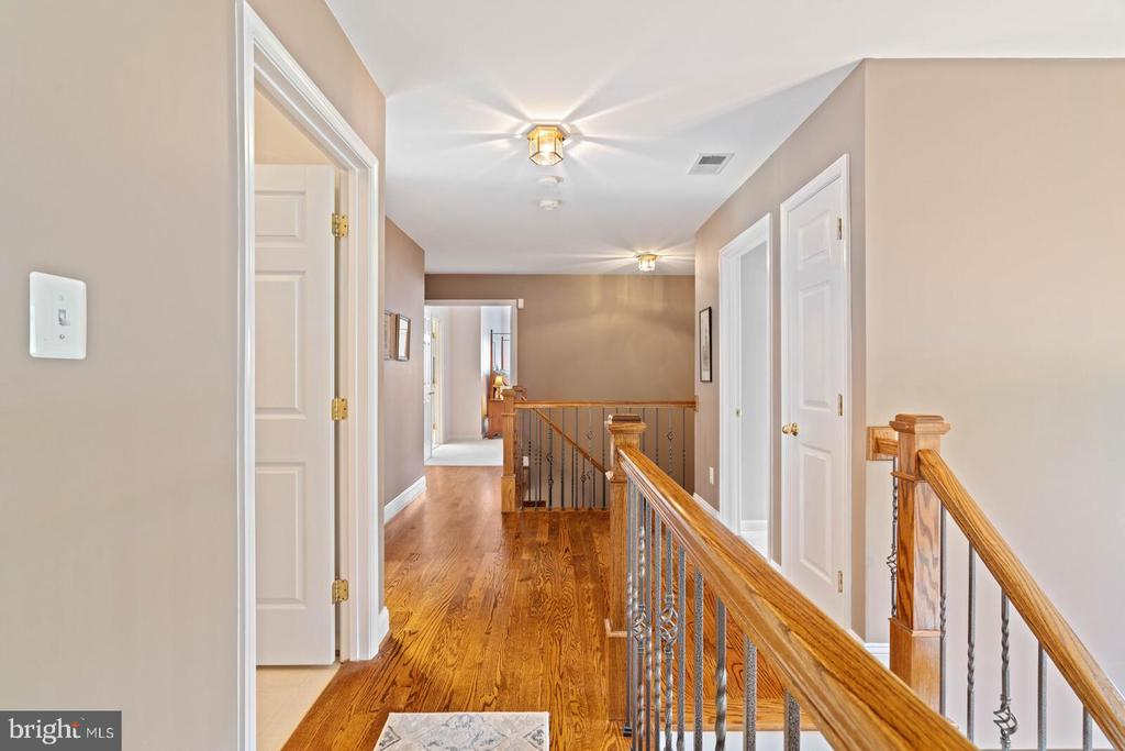 2nd Level Grand Hallway - 7893 MEADOWGATE DR, MANASSAS