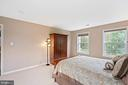 Bedroom 3  from room Interior. - 7893 MEADOWGATE DR, MANASSAS