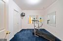 Private Mirrored Gym. TV and Treadmill Convey - 7893 MEADOWGATE DR, MANASSAS