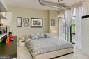 Owner's bedroom - hardwood under carpet - 1615 N QUEEN ST #M601, ARLINGTON