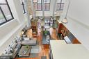 View of great room from top of stairs - 1615 N QUEEN ST #M601, ARLINGTON
