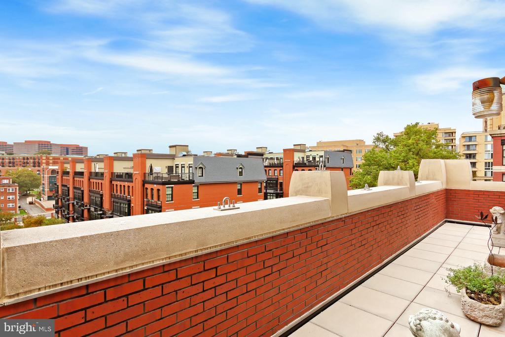 Rooftop terrace - 1615 N QUEEN ST #M601, ARLINGTON