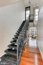 Floating staircase to terrace - 1615 N QUEEN ST #M601, ARLINGTON