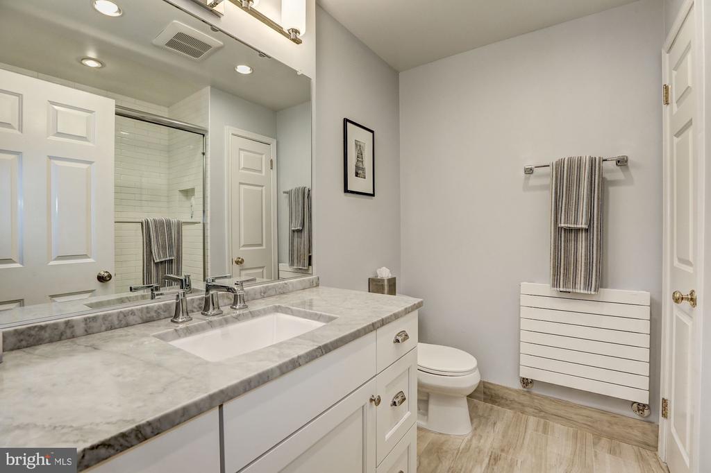 Spa-Like Guest Bath - 3307 MACOMB ST NW, WASHINGTON