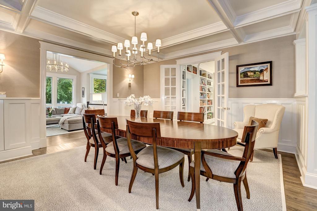 Generous Formal Dining Room - 3307 MACOMB ST NW, WASHINGTON