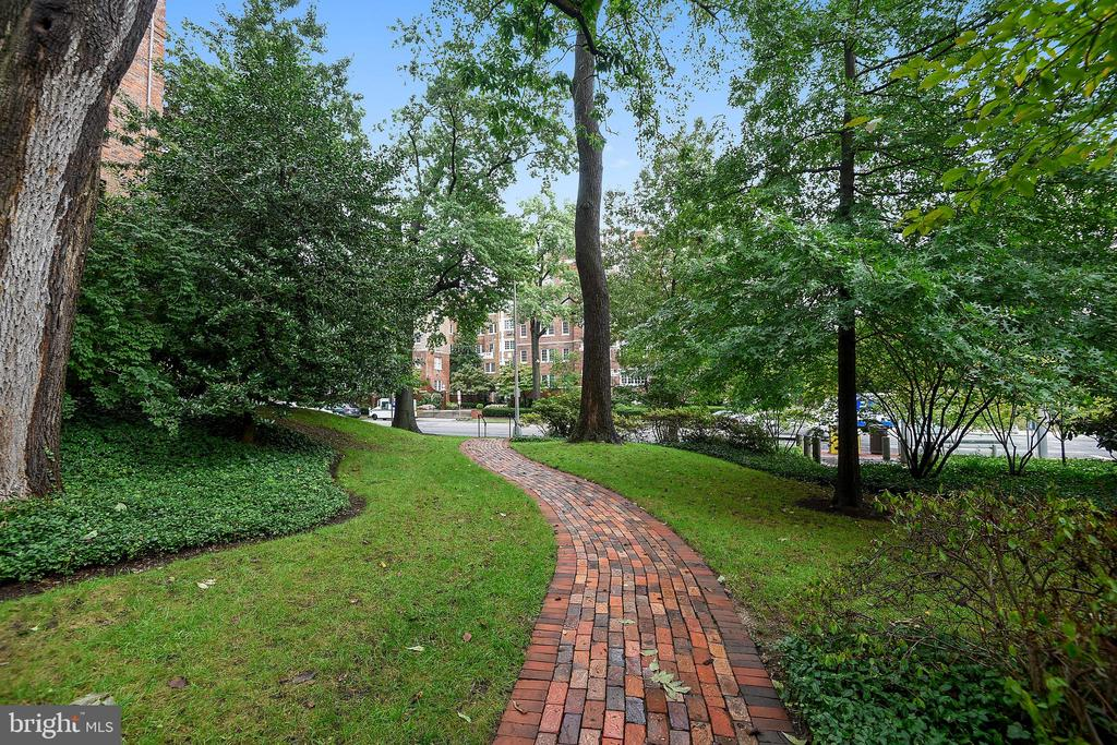 Beautiful Landscaping - 3900 CONNECTICUT AVE NW #105-F, WASHINGTON