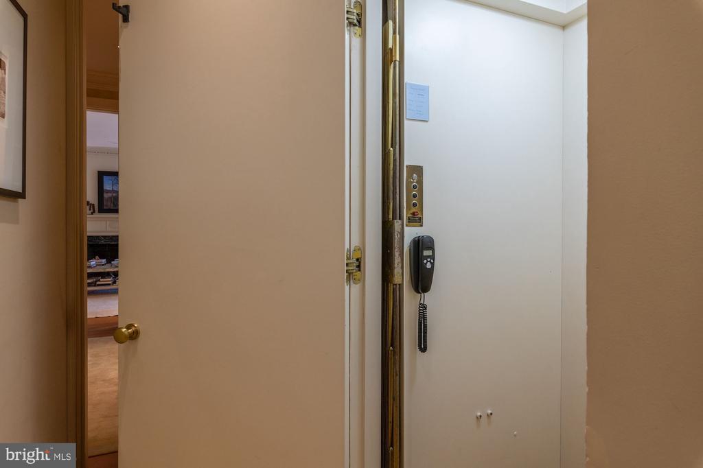 Elevator (lower level to second floor) - 2829 WOODLAND DR NW, WASHINGTON
