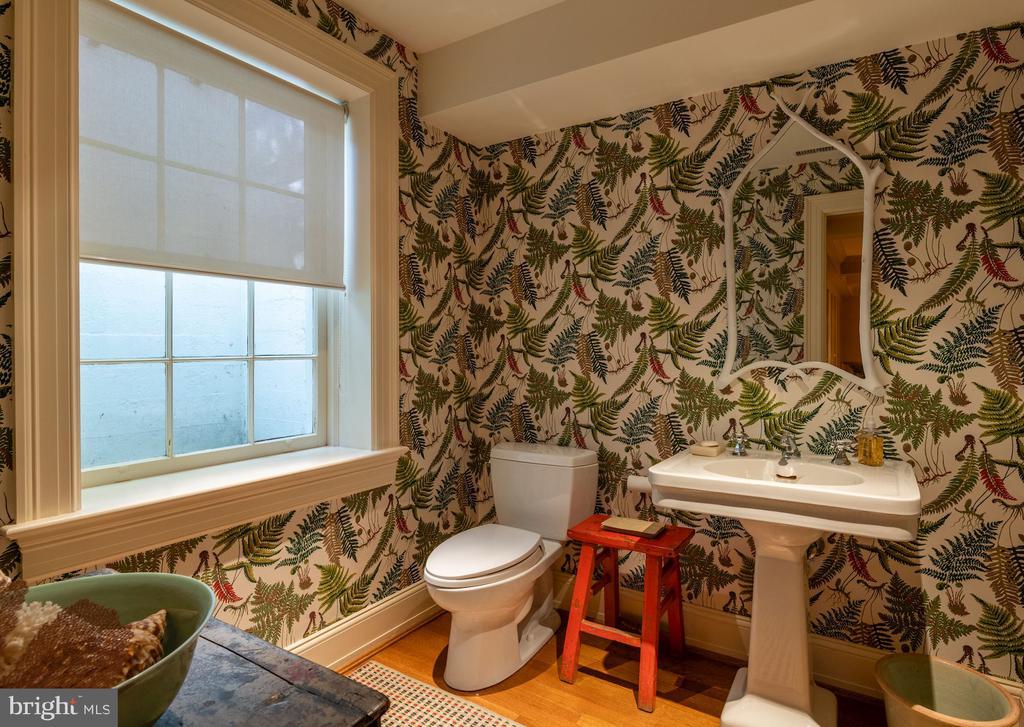 Half Bath/Lower Level - 2829 WOODLAND DR NW, WASHINGTON
