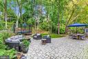 Inviting Patio Backing to Mature Trees - 3307 MACOMB ST NW, WASHINGTON