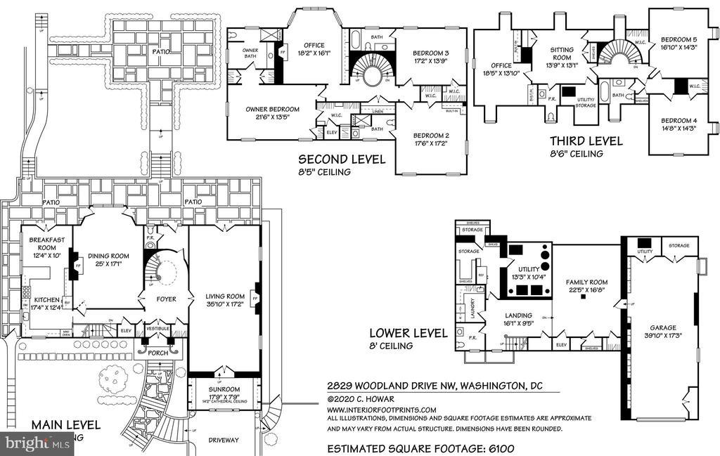 Floorplans - 2829 WOODLAND DR NW, WASHINGTON