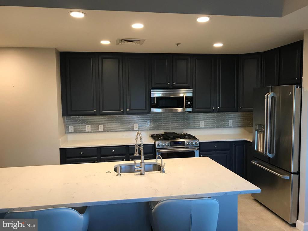 UPDATED KITCHEN W/FABULOUS BACKSPLASH - 1830 FOUNTAIN DR #308, RESTON