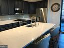 LARGE QUARTZ COUNTERTOP - 1830 FOUNTAIN DR #308, RESTON