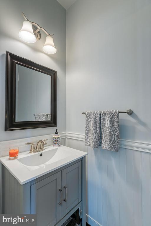 Lower Level Powder Room - 1419 HANOVER ST, FREDERICKSBURG