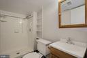 Full Bath in Basement - 5630 KIRKHAM CT, SPRINGFIELD