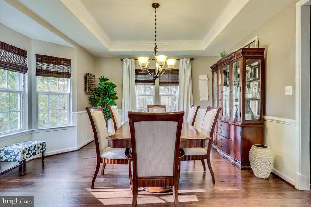 Bay Window  is a Dining Room Bonus - 12801 CLASSIC SPRINGS DR, MANASSAS