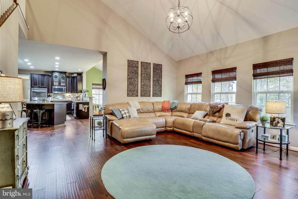Family Room Big Enough for a Big Crowd - 12801 CLASSIC SPRINGS DR, MANASSAS