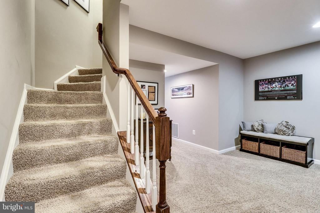 Stairs to Lower LEvel - 12801 CLASSIC SPRINGS DR, MANASSAS