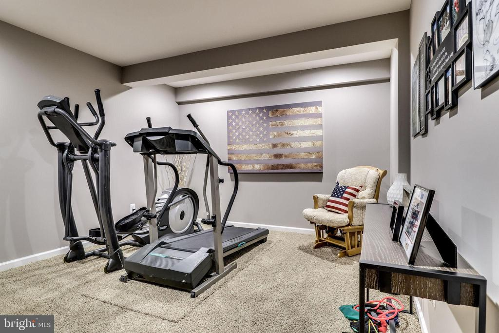 Lower Level Exercise Room - 12801 CLASSIC SPRINGS DR, MANASSAS