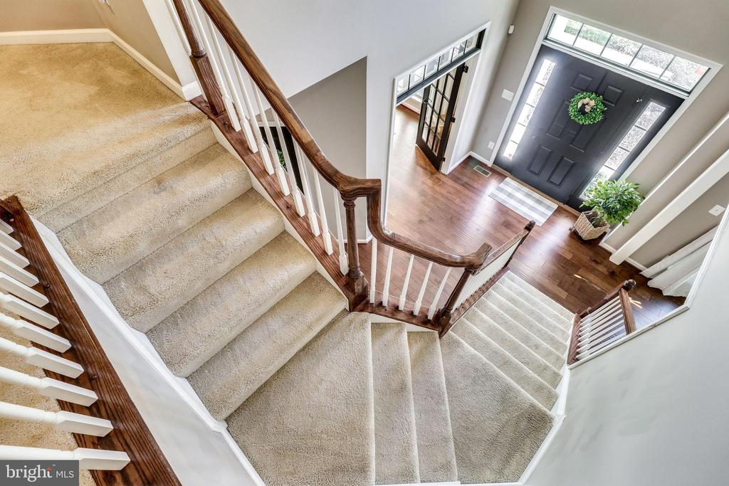 Looking Down on the Foyer - 12801 CLASSIC SPRINGS DR, MANASSAS