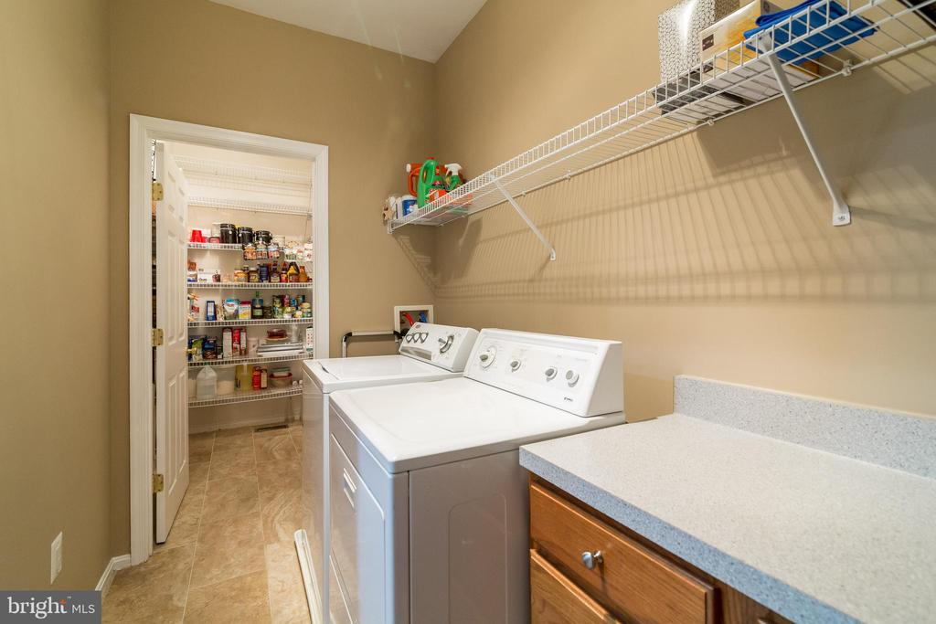 Laundry Room & Pantry - 15304 EGGLESTETTON CT, MANASSAS
