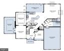 Main Level Plan - home does not include solarium - 12801 CLASSIC SPRINGS DR, MANASSAS