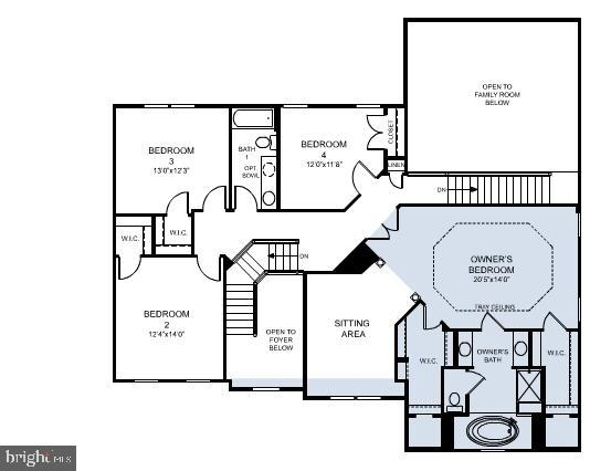 Upper Level Floor Plan - 12801 CLASSIC SPRINGS DR, MANASSAS