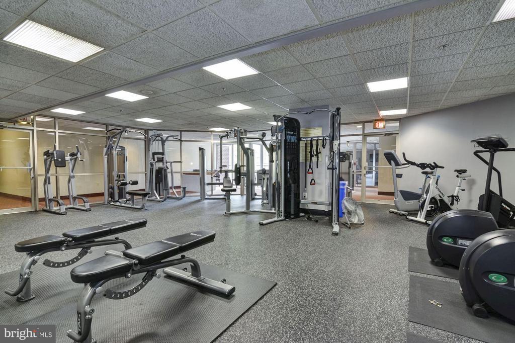 The Williamsburg fitness center - 1276 N WAYNE ST #807, ARLINGTON