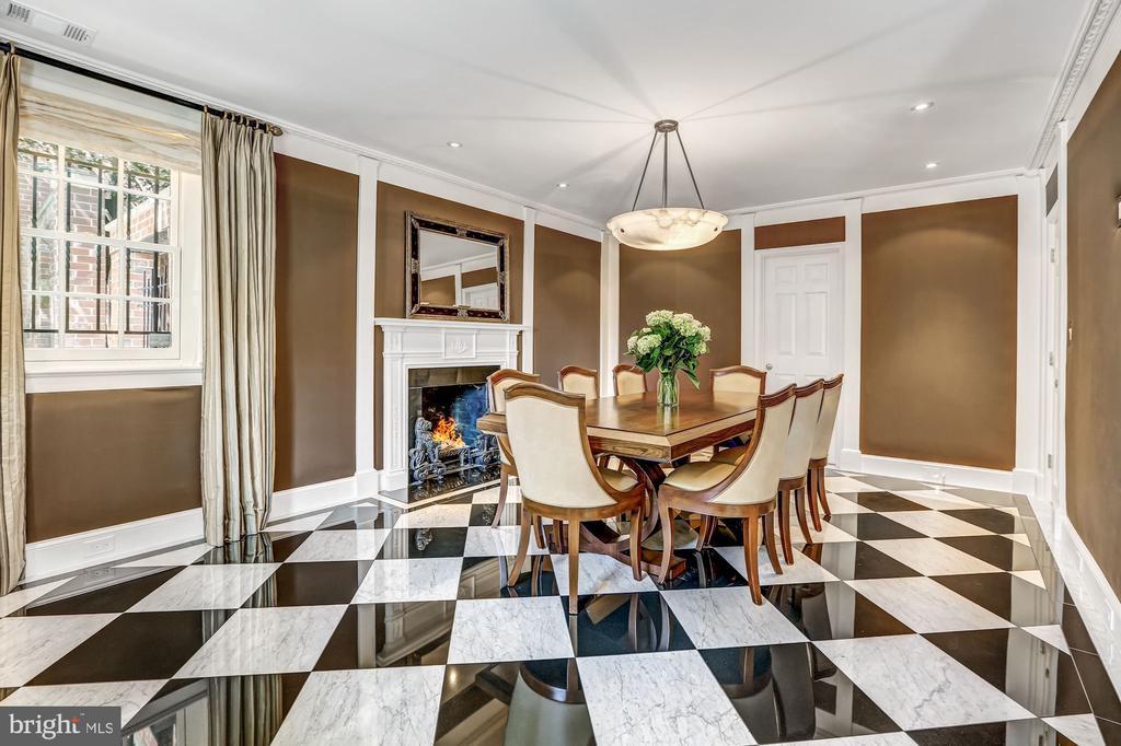 Intimate Dining Space - 2507 MASSACHUSETTS AVE NW, WASHINGTON