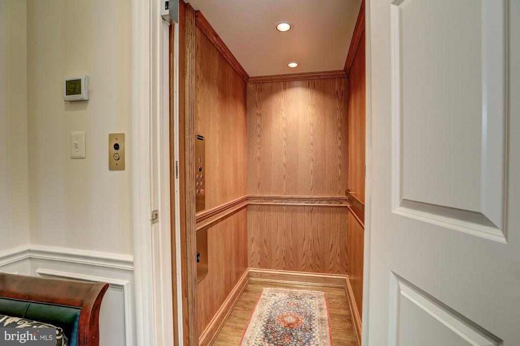 Wood-Paneled Elevator - 2507 MASSACHUSETTS AVE NW, WASHINGTON
