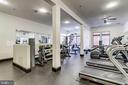 32 Exercise Room with variety of workout equip - 309 HOLLAND LN #115, ALEXANDRIA