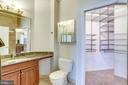 20 Primary Owner Bathroom w/walk in closet - 309 HOLLAND LN #115, ALEXANDRIA