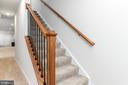 Downstairs to the Basement Level in style - 18228 RED MULBERRY RD, DUMFRIES