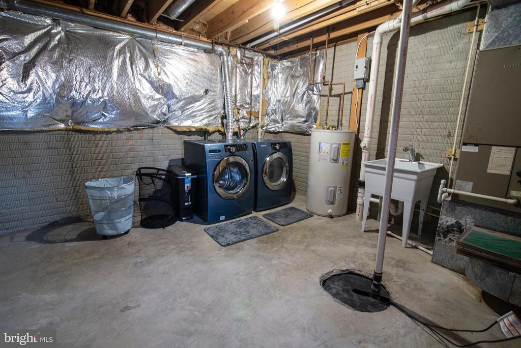Rough in plumbing and washer dryer - 102 TWIN BROOK LN, STAFFORD